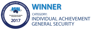 Australian Security Industry Association Limited (ASIAL): Individual Achievement – General