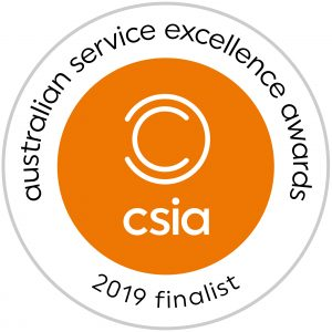 FINALIST – Australian Service Excellence Awards (CSIA): Customer Service Project of the Year (2019)